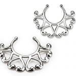 PiercedOff-Small-Vintage-Hearts-Clip-On-Nipple-Ring-Pair-B01HAER4TI