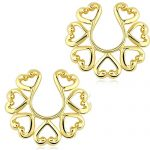 PiercedOff-Vintage-Hearts-14Kt-Gold-Plate-Non-Piercing-Clip-On-Nipple-Ring-Shield-Pair-B01C216D3C